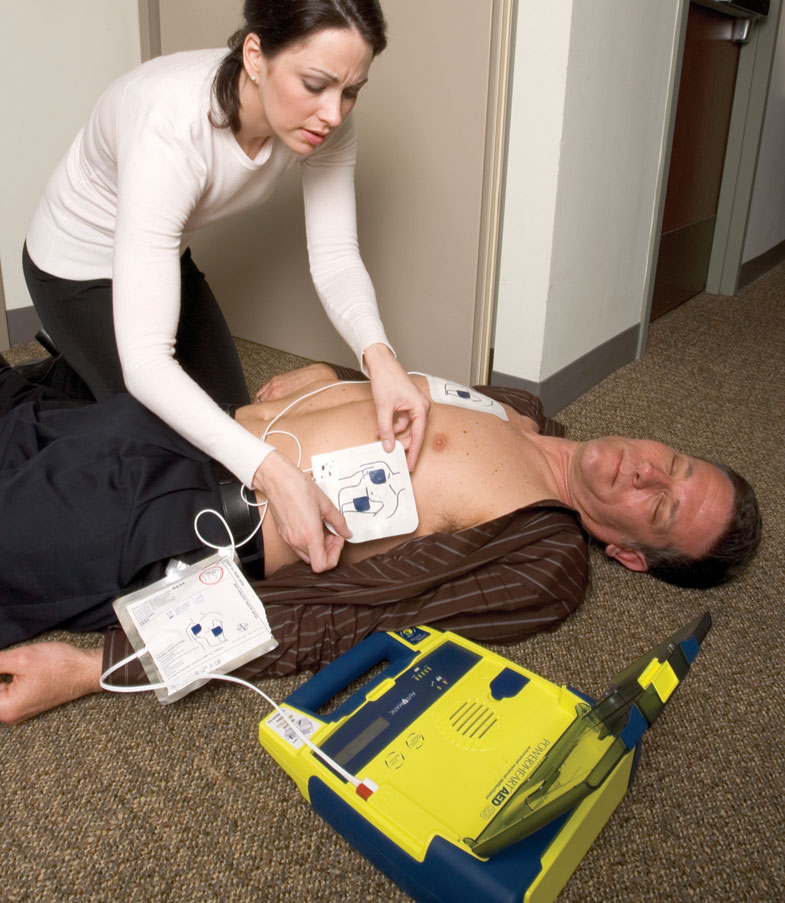 AED in action
