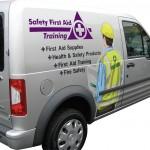 safety-first-aid training-van