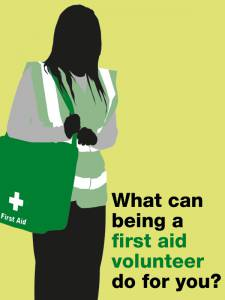 What Can Being a Volunteer First Aider Do for You?